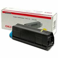 OKI cartridge: Toner Cartridge 1500sh f C3200 geel