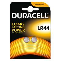 Duracell batterij: Specialty LR44 alkaline knoopcelbatterij, verpakking van 2
