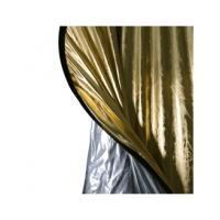 walimex walimex 2in1 reflectiescherm zilver/goud, 145x200cm (16259)
