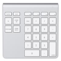 Belkin YourType Bluetooth® Wireless Keypad - Aluminium