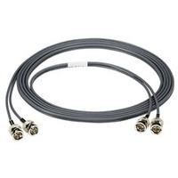 Black Box coax kabel: 7.6m BNC-BNC - Grijs