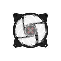 Cooler Master Hardware koeling: MasterFan Pro 120 Air Balance RGB - Zwart, Transparant