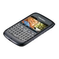 BlackBerry mobile phone case: Bold 9790 Soft Shell - Blauw