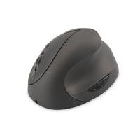 Digitus Wireless Ergonomic Optical Mouse 6D (Buttons), 2.4GHz, rechargeable battery Kleur: zwart Computermuis