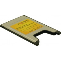 DeLOCK geheugenkaartlezer: PCMCIA Card Reader for Compact Flash cards