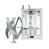 Ultimaker 3D-printer: 2 Extended+ - Zilver