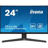 "Iiyama ProLite 23.8"" IPS LED, 1920 x 1080 @75Hz, 16:9, 250 cd/m², 1000:1, 1ms, HDMI, DisplayPort, USB Hub, RMS ....."