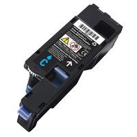DELL toner: Cyaan tonercartridge met standaardcapaciteit voor de-Kleur printer C17XX, 1250/135X, 700 pagina''s