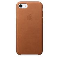 Apple mobile phone case: Leren hoesje voor iPhone 7 - Zadelbruin