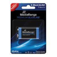 MediaRange batterij: MRBAT107 - Zwart, Blauw