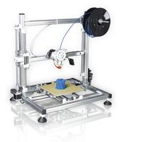 Velleman 3D-printer: FFF, 150 to 300 mm/s print speed, 0.5 mm nozzle, 0.20 - 0.25 mm layer thickness - Roestvrijstaal