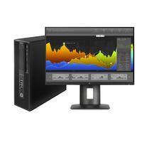 HP pc: Z240 + Z24nf monitor 1JS07AT - Zwart
