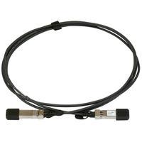 Mikrotik fiber optic kabel: SFP+, 10-Gigabit Ethernet, 1 m - Zwart
