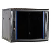 Ds-it rack: 9U wandkast met glazen deur 600x600x500mm