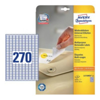 Avery Zweckform L4730REV-25 etiket - Wit