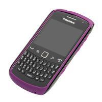 BlackBerry mobile phone case: Curve 9370/9360/9350 Premium Skin - Zwart, Paars