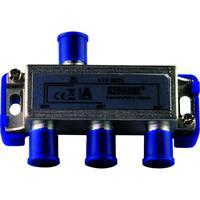 Schwaiger kabel splitter of combiner: VTF8823 241 - Zilver