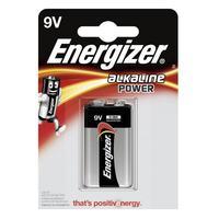 Energizer batterij: 1 x Alkaline, 9V - Zwart, Zilver