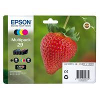 Epson inktcartridge: 29 CMYK - Zwart, Cyaan, Magenta, Geel