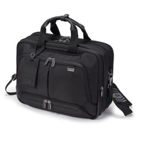 Dicota laptoptas: Top Traveller Twin PRO - Zwart