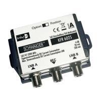 Schwaiger : F - 2 x F, 950 - 2300 MHz, DiSEqC 2.0, 20 mA