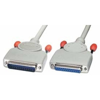 Lindy RS-232 Serial, PC - Fax/Modem Cable Signaal kabel - Grijs