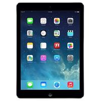 Apple tablet: iPad iPad Air Wi-Fi Cell 16GB Space Gray - Grijs (Refurbished LG)
