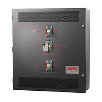 APC 10-15kVA 208V 3PH, 60Hz, Black Drukknop-panel - Zwart