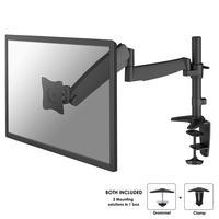 """Newstar monitorarm: De FPMA-D950BLACK is een bureausteun met gasveer voor flat screens t/m 30"""" (76 cm) - Zwart"""