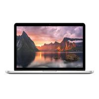 "Apple laptop: MacBook Pro 13"" Retina display - 128GB -  2.7GHz Intel Core i5 - Zilver, QWERTY"