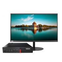 Lenovo ThinkCentre bundelactie: M710q mini pc met 24'' Tiny-in-One monitor