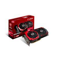 MSI videokaart: RX 570 GAMING X 4G - Zwart, Rood