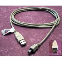 Cables Direct 2m USB Cable USB kabel - Grijs