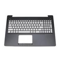 ASUS Keyboard, US English Notebook reserve-onderdeel - Zwart, Zilver