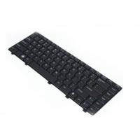 DELL notebook reserve-onderdeel: Keyboard (Sn), Black - Zwart