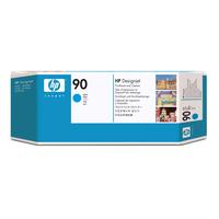 HP printkop: 90 cyaan DesignJet printkop en printkopreiniger