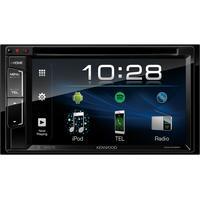 "Kenwood Electronics car TFT monitor: 15.748 cm (6.2 "") LCD Touch 800 x 480, 4 x 50W, AM/FM, Hands Free, CD/USB, ....."