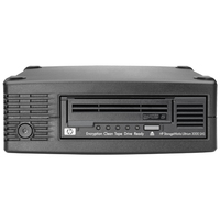Hewlett Packard Enterprise tape drive: StoreEver LTO-5 Ultrium 3000 SAS - Zwart