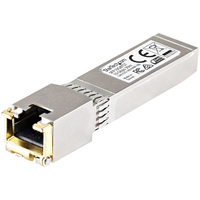 StarTech.com Cisco compatibel koperen 10GBase-T SFP+ module MSA conform RJ45 koper 10GBase-T 30m met CAT6a .....