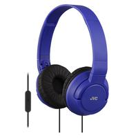 JVC HA-SR185A - On-ear koptelefoon - Blauw