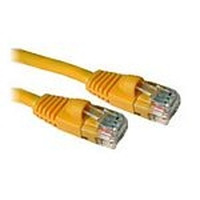 C2G netwerkkabel: Cat5E Snagless Patch Cable Yellow 1.5m