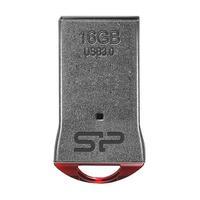 Silicon Power USB flash drive: Jewel J01 16GB - Zwart, Metallic