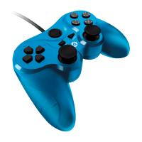 Gioteck game controller: Gioteck, VX-3 Wired Controller (Blue)  PS3