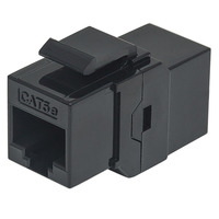 Intellinet RJ-45, Cat5e Kabel connector - Zwart