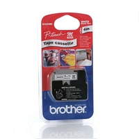 Brother labelprinter tape: MK221SBZ Labelling Tape (9mm)