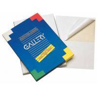 Gallery etiket: ETIKET GALL WIT A5 100V RECHT