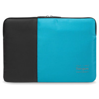 Targus laptoptas: Pulse - Zwart, Blauw