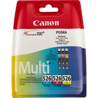 Canon inktcartridge: CLI-526 C/M/Y - Cyaan, Magenta, Geel
