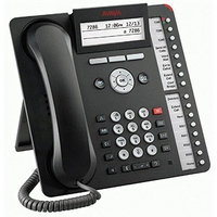 Avaya IP telefoon: 1616-I - Zwart