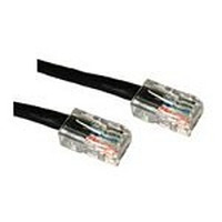 C2G netwerkkabel: Cat5E Crossover Patch Cable Black 3m